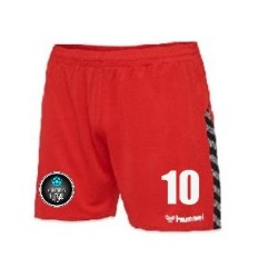 Columbus Futsal Red Shorts Women's Cut (Mandatory Item)