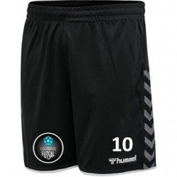 Columbus Futsal Black Short (Mandatory Item)