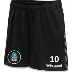 Columbus Futsal Black Shorts Women's Cut (Mandatory Item)