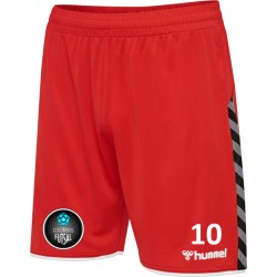 Columbus Futsal Red Short (Mandatory Item)