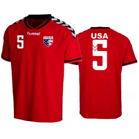 Usath Youth Team Jersey With Number Soccer Hive
