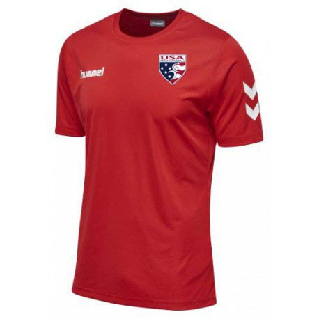 Usath Poly Tee Soccer Hive