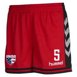 USATH Women's Cut Official Game Short w/number